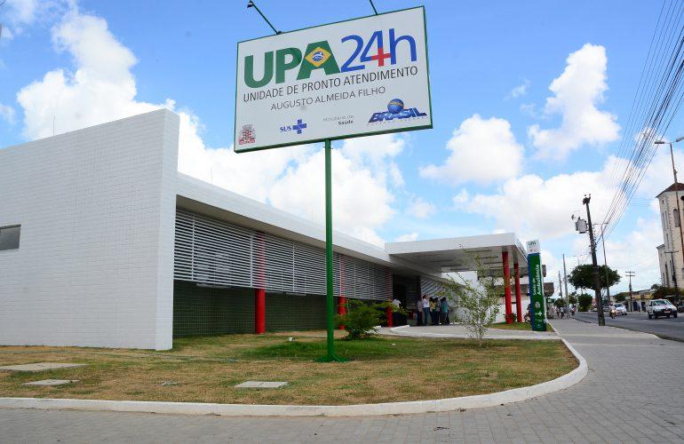Vítima de golpe de machado é internada na UPA de Cruz das Armas, em JP