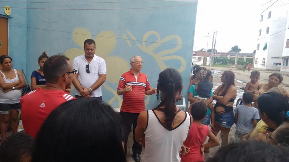 Frei Anastácio pede que famílias sem teto não sejam despejadas de ocupação no Bairro das Indústrias