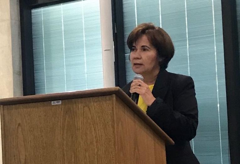 Giucélia Figueiredo destaca aumento da participação das mulheres na engenharia