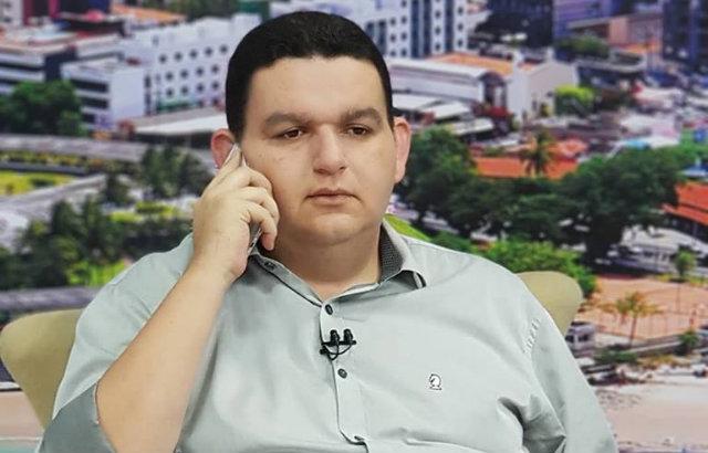 Radialista Fabiano Gomes é preso pela Polícia Federal