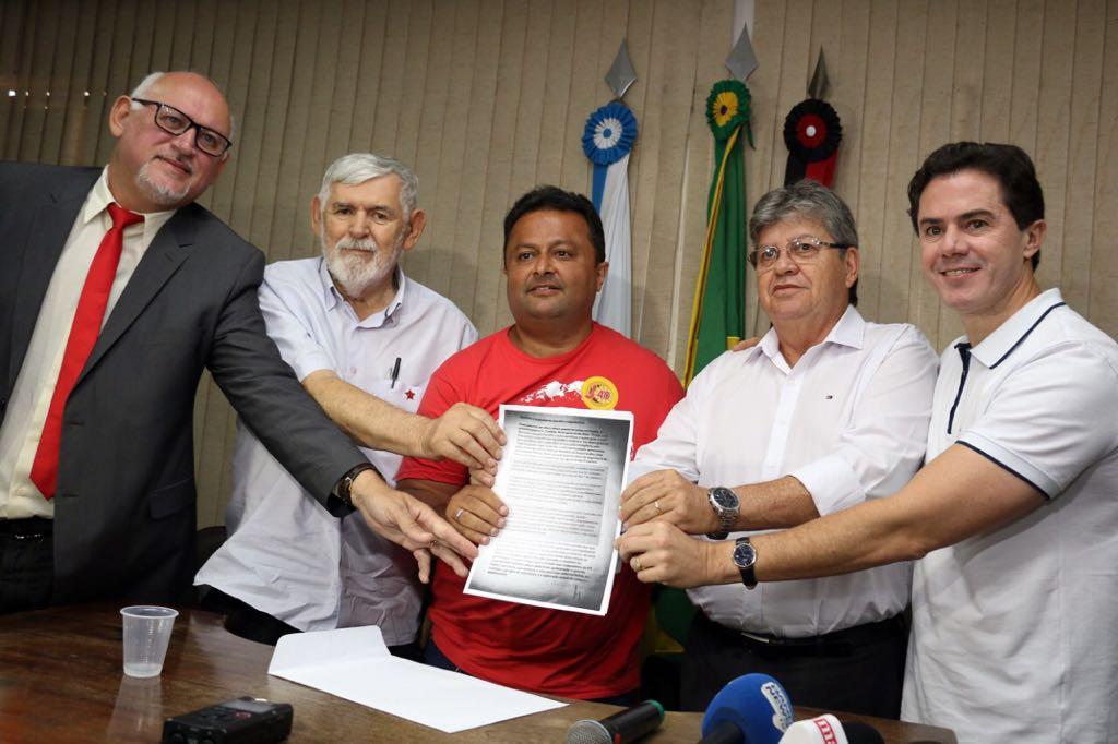 Lula envia carta de apoio a João, Luiz Couto e Veneziano