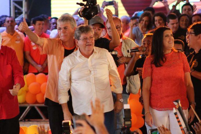 TRE aprova registros de candidaturas de João Azevêdo e Lígia Feliciano