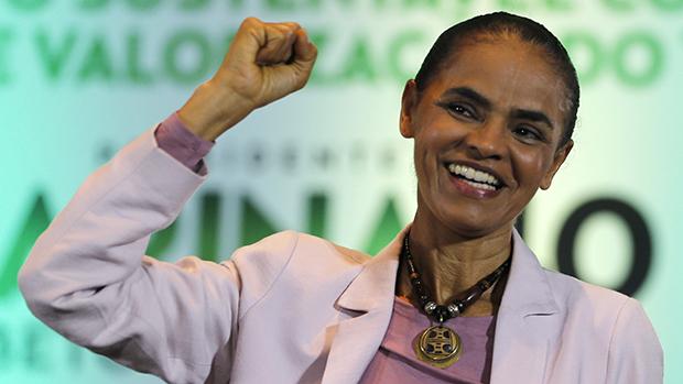 Marina Silva anuncia voto em Fernando Haddad no segundo turno