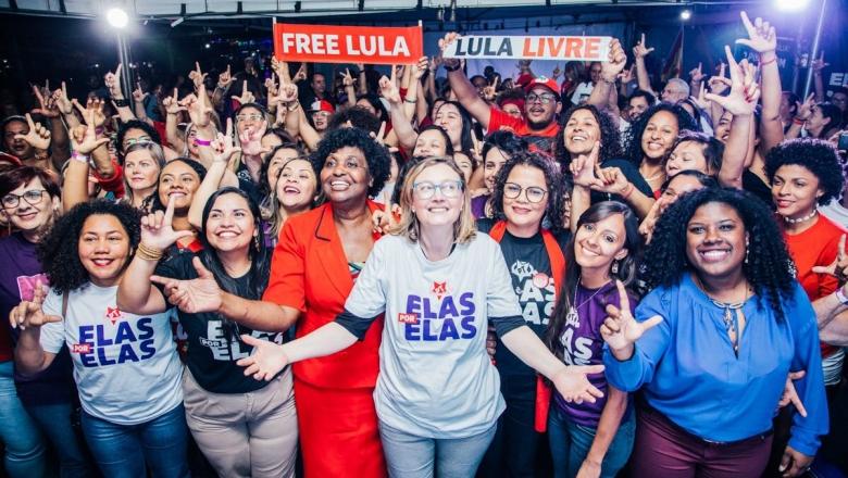 PT elege maior número de mulheres no país nas Eleições 2018