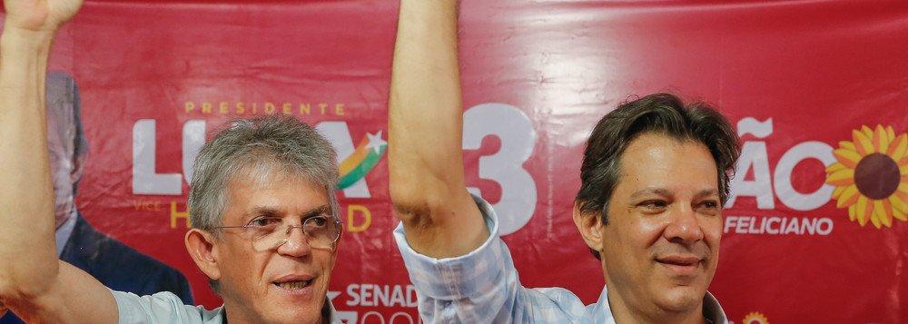 Candidato do PT, Fernando Haddad vence mais uma vez na Paraíba