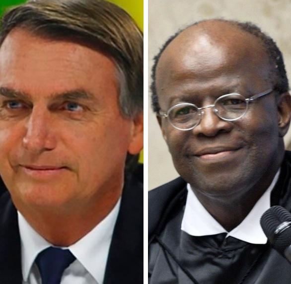 """Joaquim Barbosa rebate Bolsonaro sobre Mensalão: """"É falso o que ele vem dizendo por aí"""""""