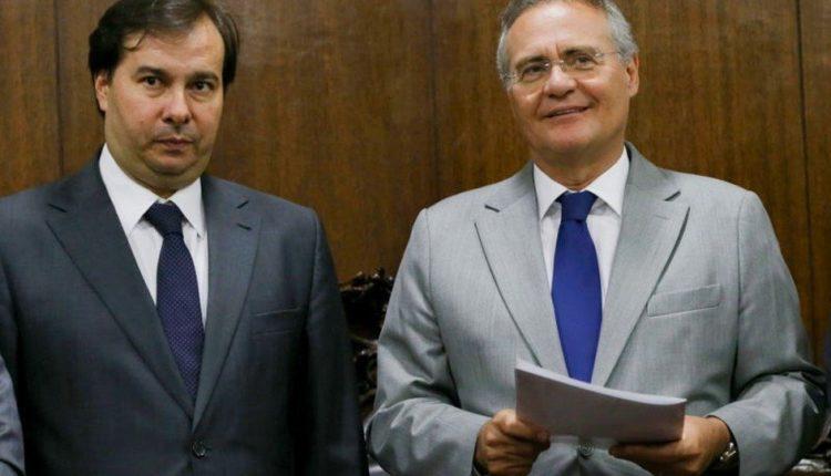 Maia e Renan são favoritos para presidir Câmara e Senado, apontam líderes