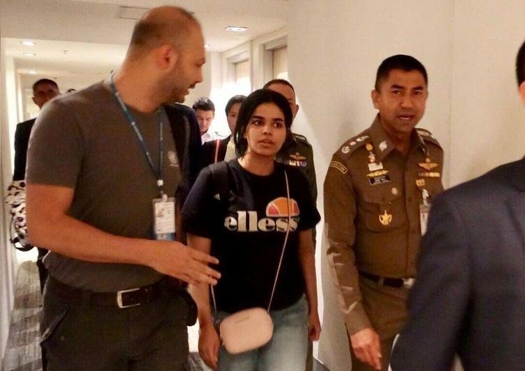 Agência da ONU deve defender jovem saudita que fugiu de seu país