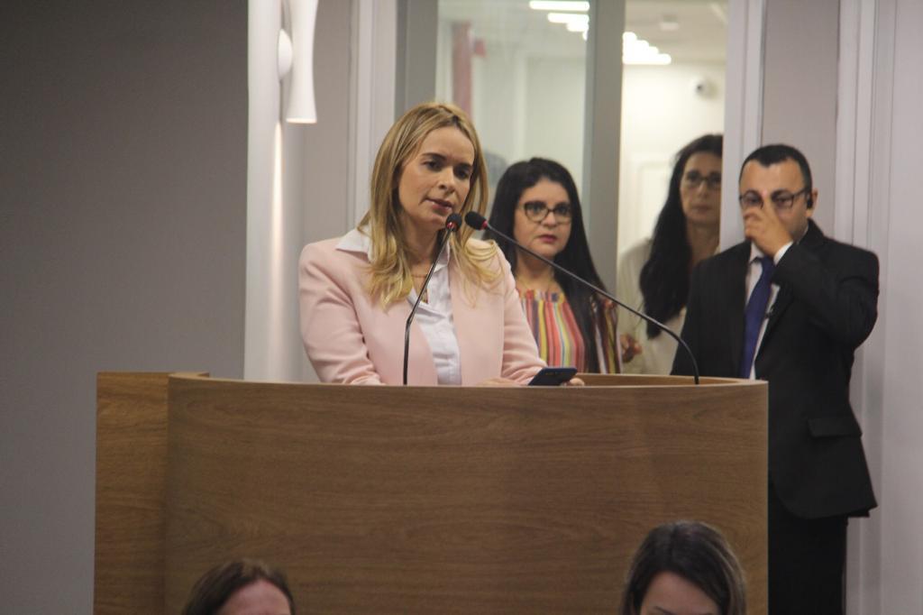 Daniella Ribeiro anuncia voto em Esperidião Amin para presidente do Senado