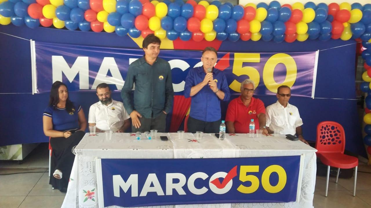PSOL e PCdoB lançam Marcos Patrício e Françualdo como candidatos em Cabedelo