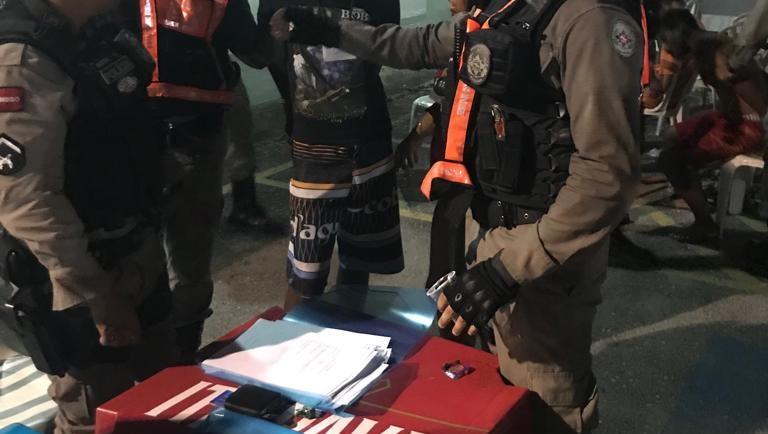 Posto de Triagem da PM no Folia de Rua registra captura de 14 suspeitos