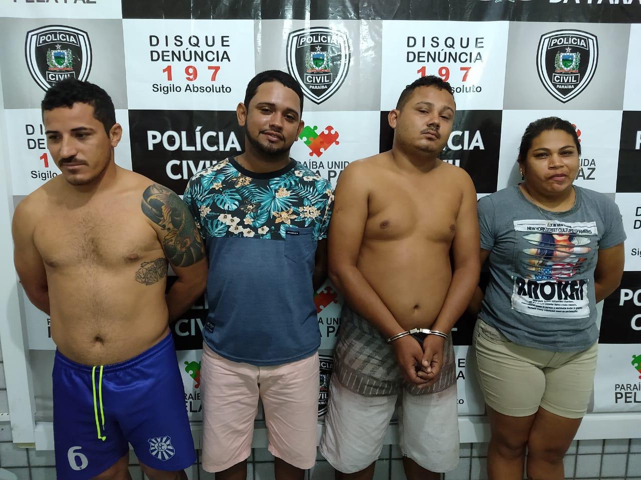 Operação Nefasta prende nove suspeitos de assassinatos e roubos em Mamanguape e Guarabira