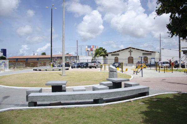 Moradores de Mangabeira terão nova Praça Cristo Rei entregue na segunda-feira