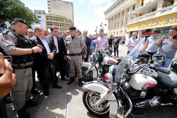 Batalhão com Motocicletas entrará em funcionamento em até dois meses