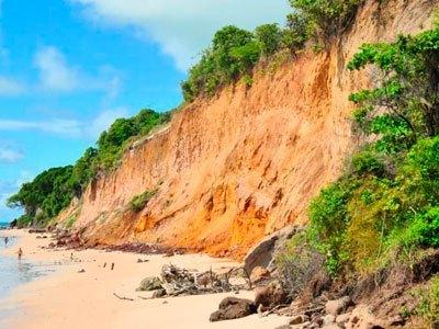 Barreira do Cabo Branco teve novo deslizamento de terra