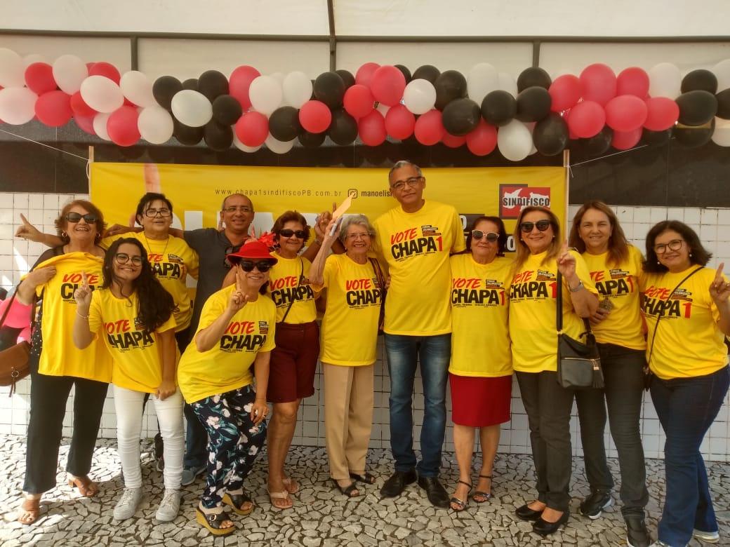Manoel Isidro vence eleição no Sindifisco e toma posse em maio