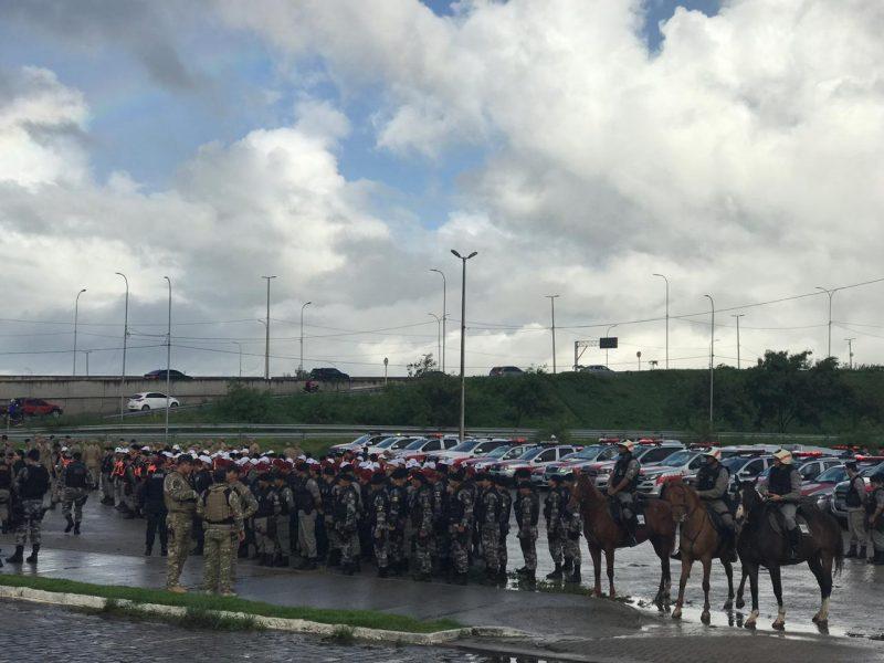 Operação nacional reforça segurança nas ruas da Paraíba hoje com 2 mil policiais
