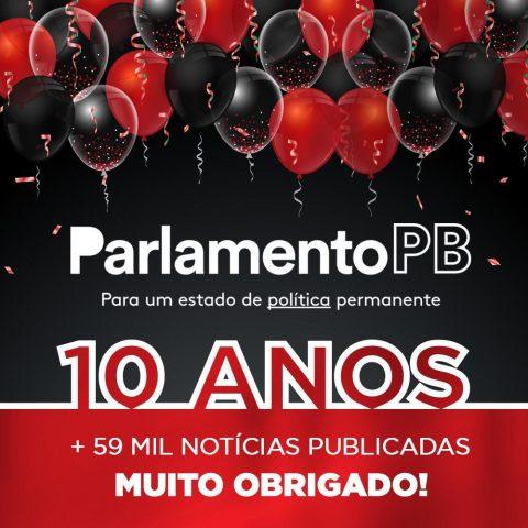Dez anos de ParlamentoPB