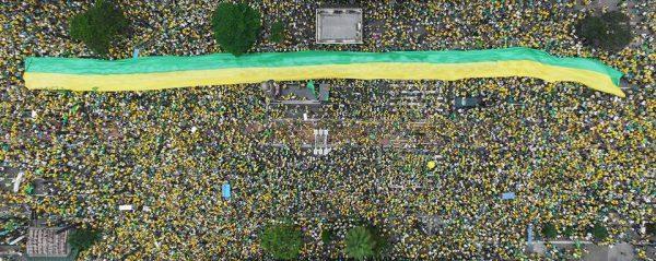 Ato contra soltura de Lula acontece no Busto de Tamandaré, em JP