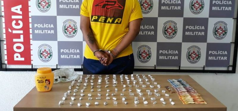 Polícia apreende 235 papelotes de maconha em ações de combate ao tráfico na Capital