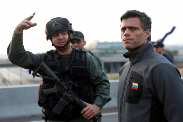 Justiça da Venezuela ordena prisão de opositor Leopoldo López