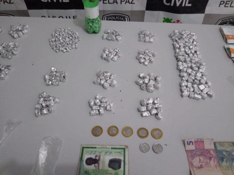 Operação Cannabis III prende suspeito de tráfico e apreende drogas e dinheiro