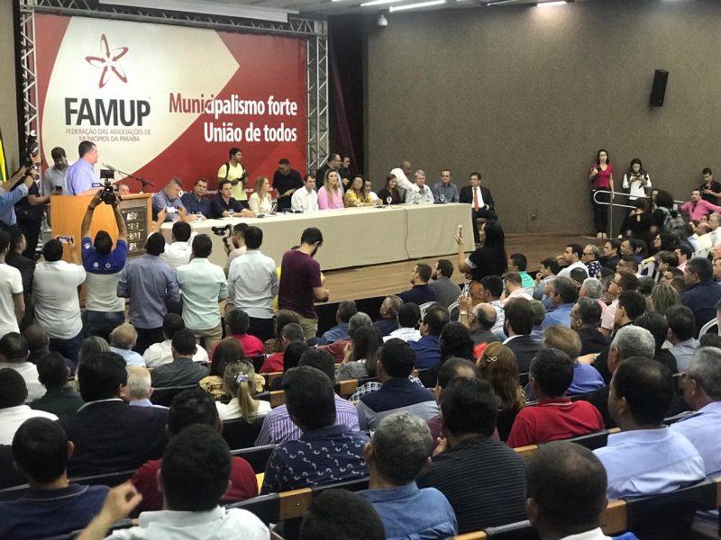 Políticos de 210 municípios paraibanos assinam manifesto em defesa da PEC que unifica eleições