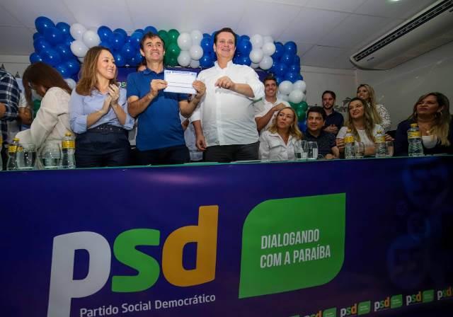 Grande evento com Kassab e Pedro marca filiação de Romero Rodrigues ao PSD