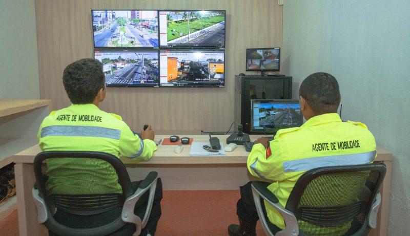 Prefeitura de Cabedelo instala câmeras para monitorar trânsito e reforçar segurança
