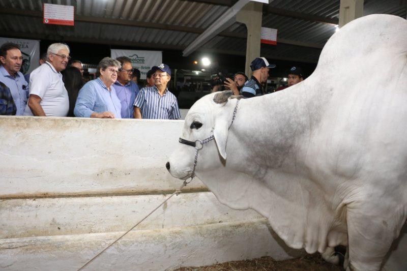 Em CG, João Azevêdo visita 52ª Exposição de Animais e Produtos Industriais