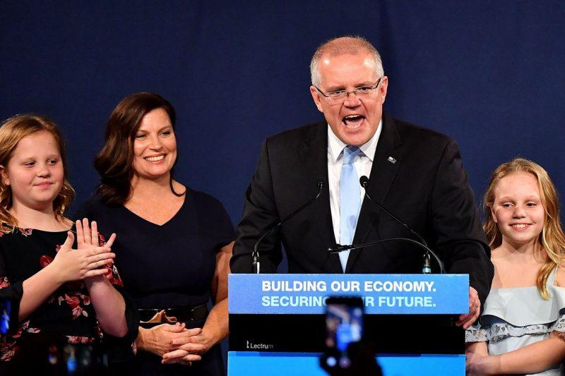Vitória conservadora surpreende em eleições da Austrália