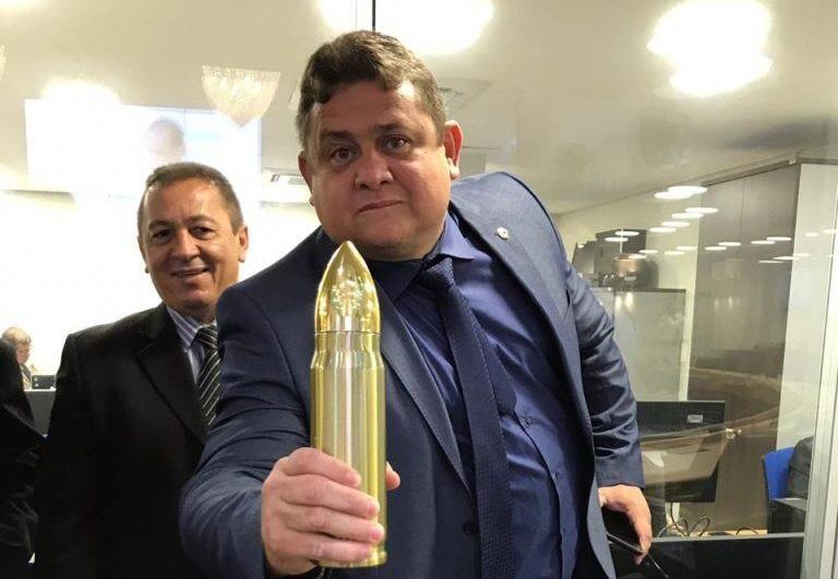 Assembleia da Paraíba terá detector de metais, mas só proibirá arma em plenário