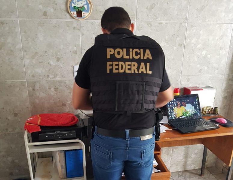 Operação Xeque-Mate: PF cumpre mandado na casa de Fernando Catão e no TCE