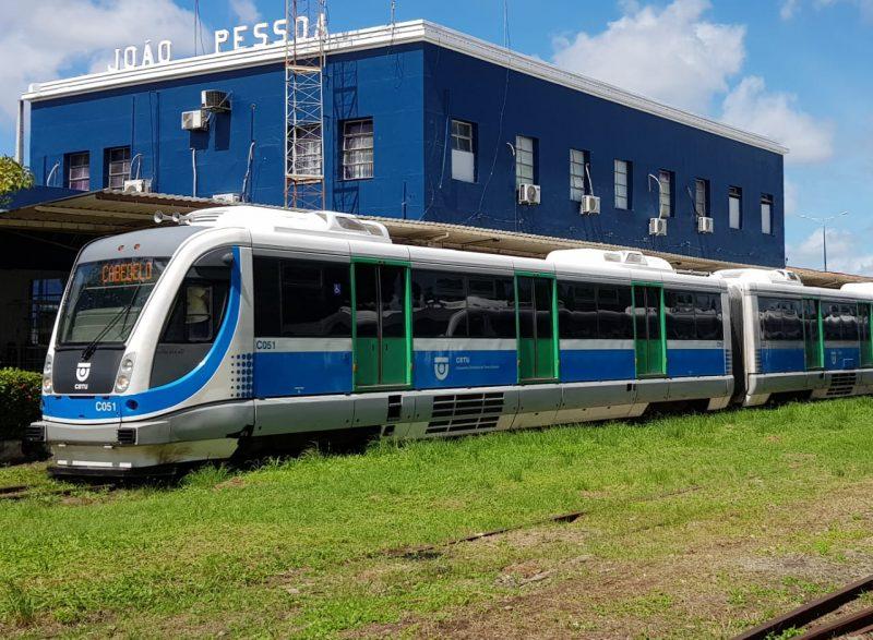 Tarifa de trens na Grande João Pessoa vai custar R$ 1,00 a partir de segunda