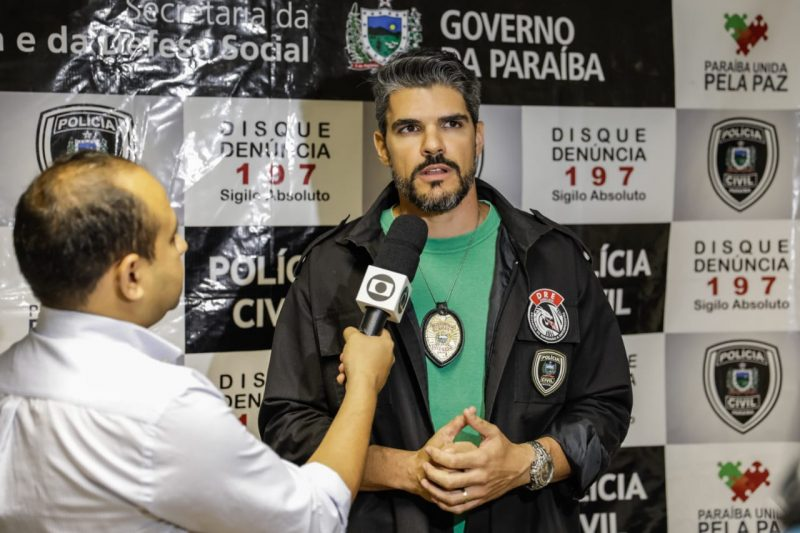 Dez pessoas são presas por tráfico e clonagem de cartões em João Pessoa