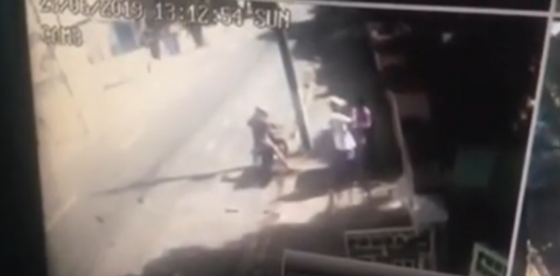 Câmera flagra assassinato de agente penitenciário que reagiu a assalto no bairro de Tambiá