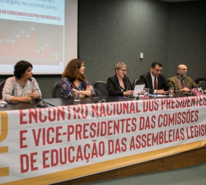 Parlamentares paraibanos participam de lançamento de Carta em defesa do Fundeb