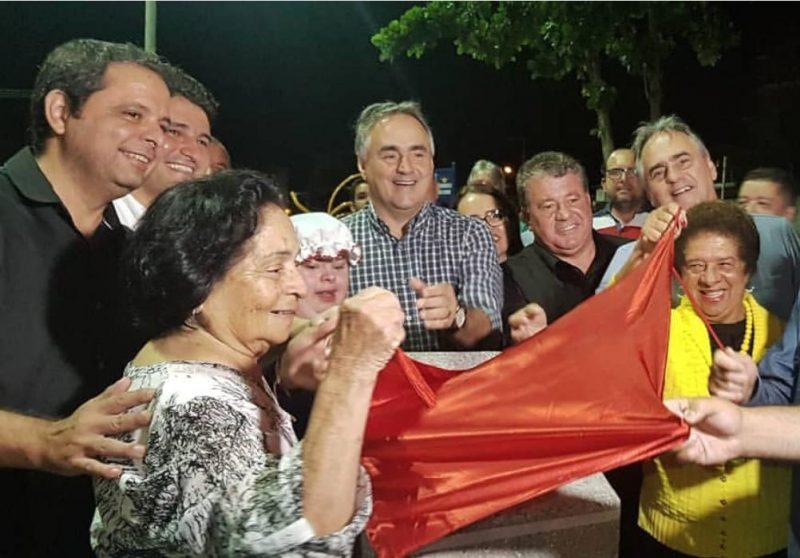Marmuthe e Cartaxo inauguram primeira praça 100% inclusiva da Paraíba
