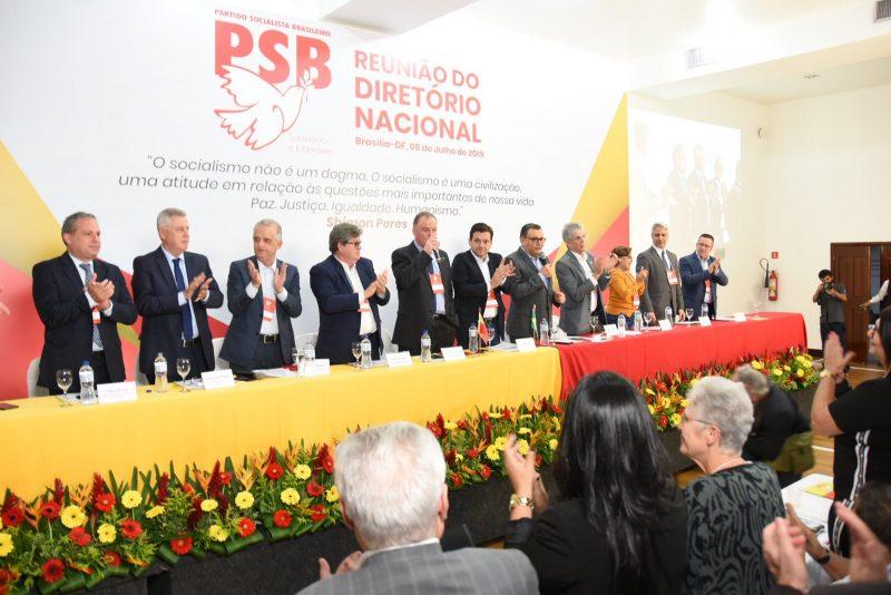 Com João e Ricardo, PSB fecha questão contra Reforma da Previdência