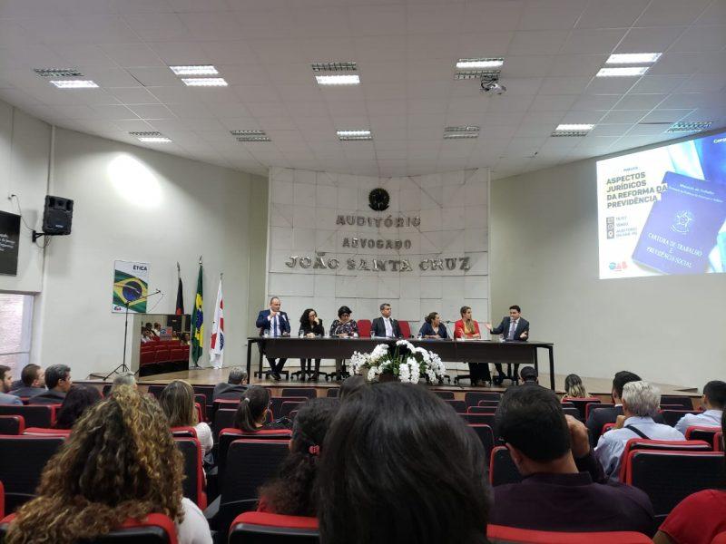 Deputados debatem reforma da Previdência durante audiência na OAB-PB