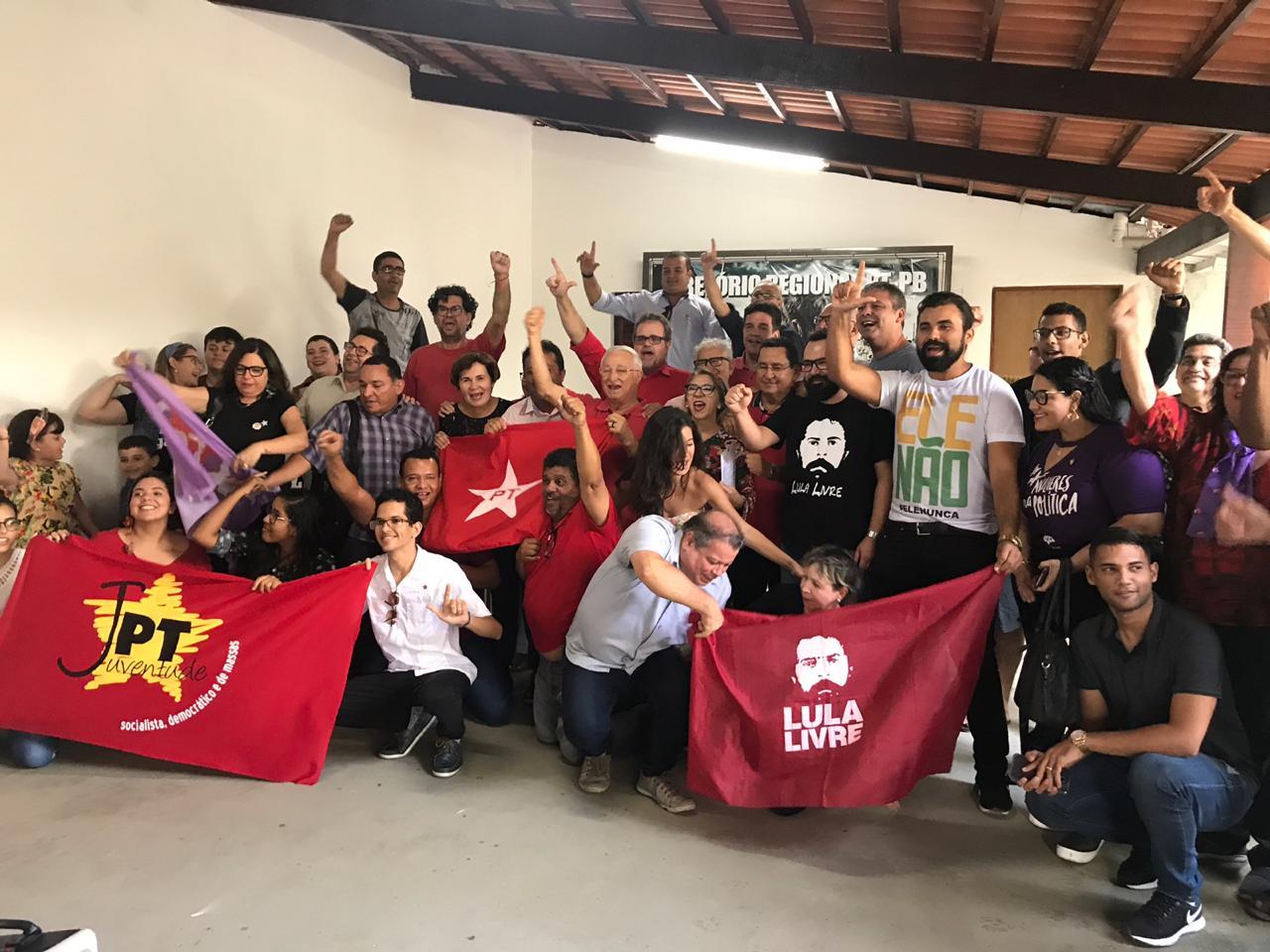 Frei Anastácio elogia união do PT na Paraíba