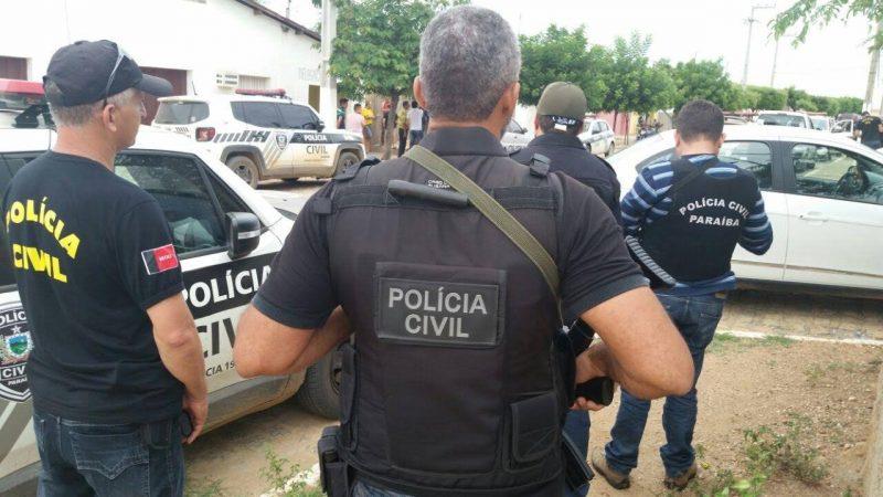 PC prende autores de crime que comoveu cidade no interior da Paraíba