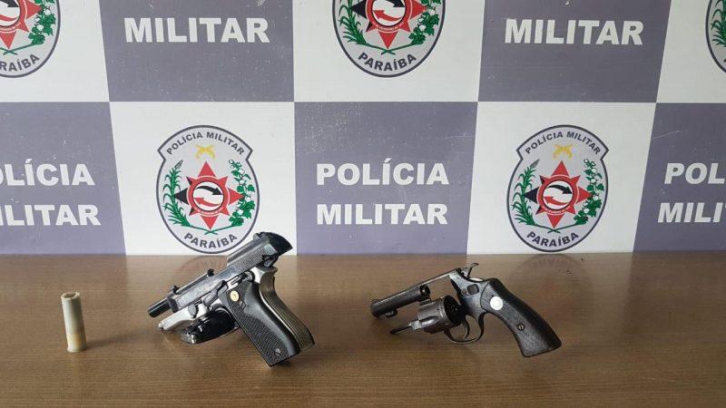 Armas usadas em confrontos de envolvidos com o tráfico são apreendidas em Oitizeiro