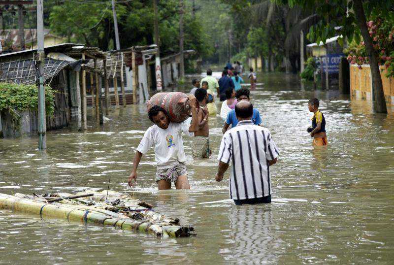 Total de mortos por chuvas na Índia sobe para 147