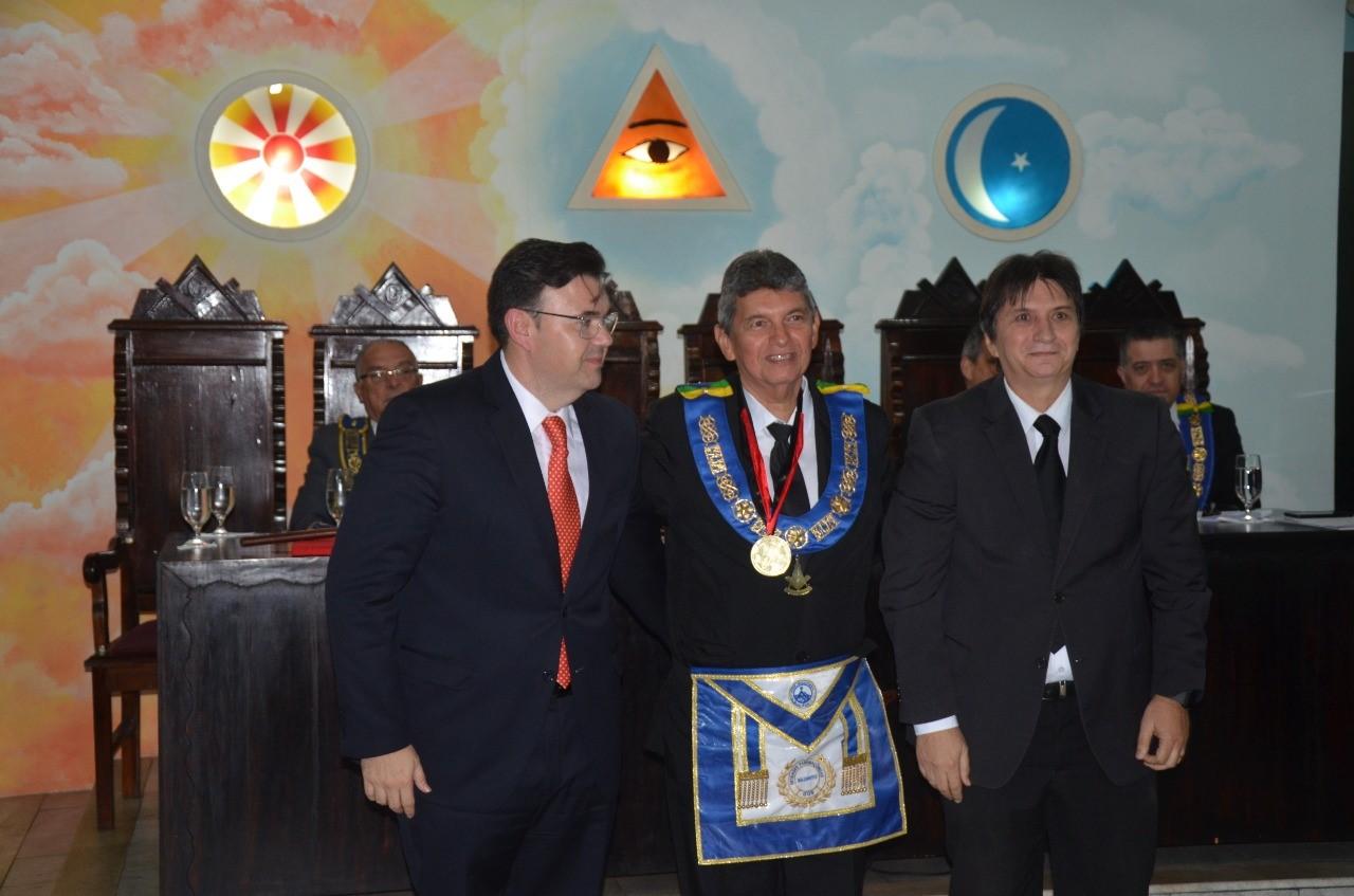 Câmara de João Pessoa homenageia Grão Mestre da Maçonaria paraibana