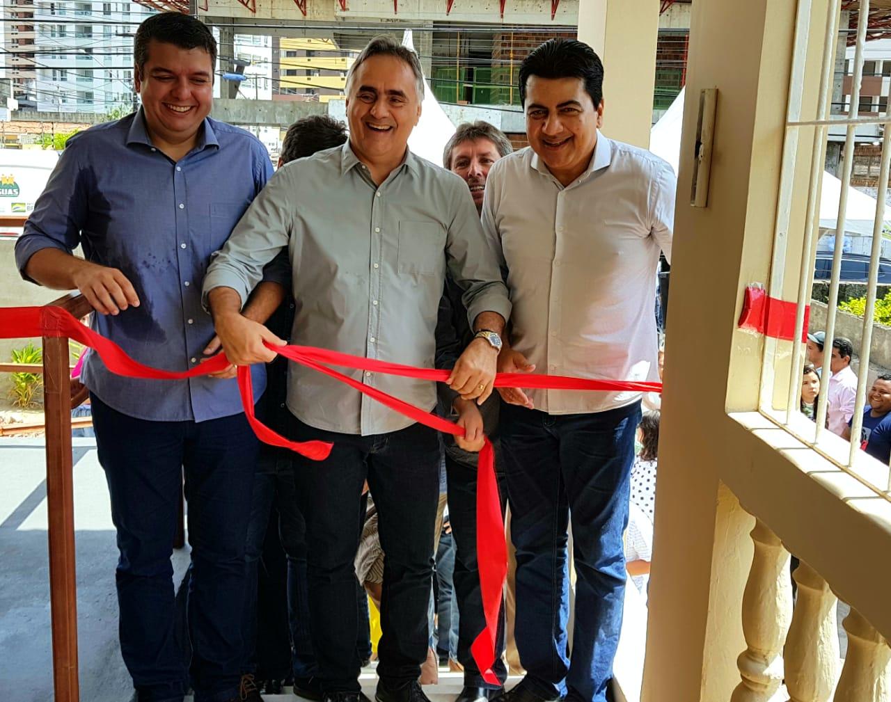 Cartaxo inaugura Casa de Passagem Familiar e envia Lei da Assistência Social à CMJP