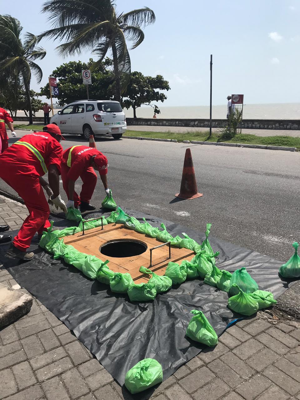 Hotel é notificado em Manaíra por lançamento de esgoto para a praia
