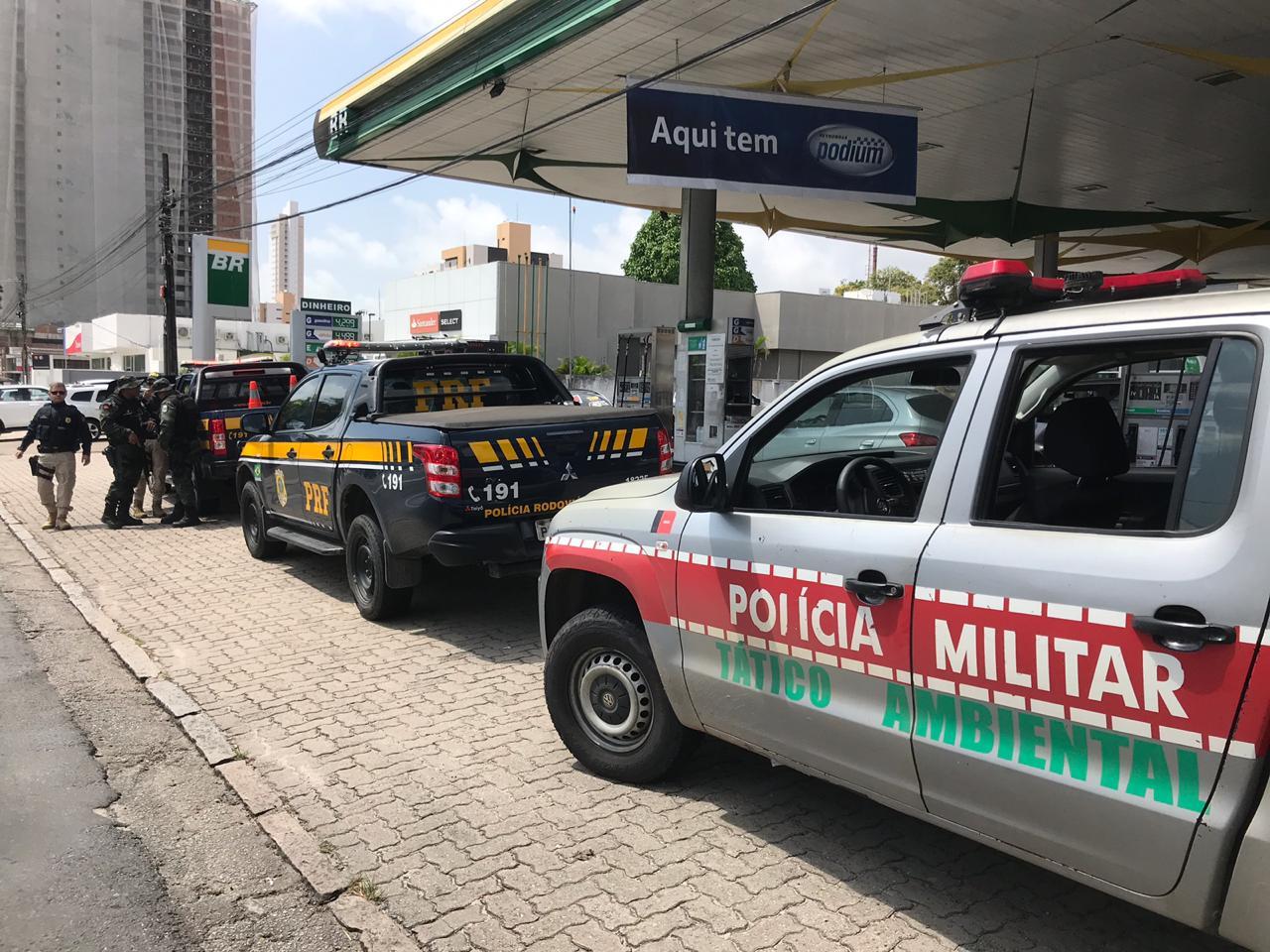Sudema, PRF e Ambiental autuam postos em Patos, Sousa e Jaguaribe
