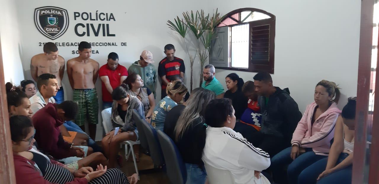 Operação Xadrez procura 28 suspeitos de tráfico na manhã de hoje no Brejo da PB
