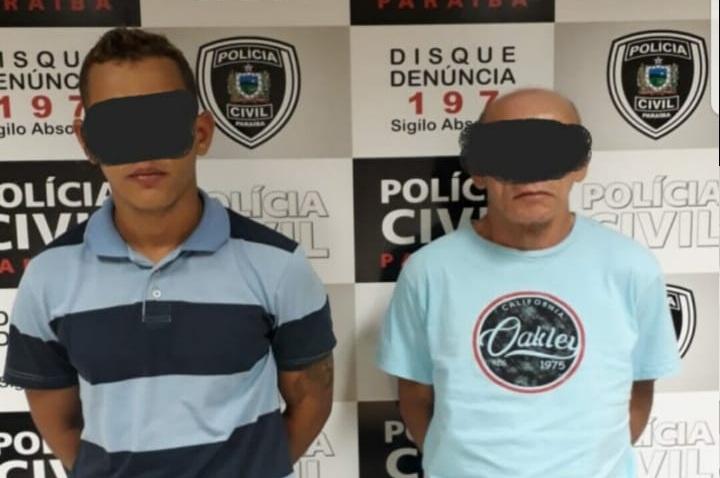 Polícia prende em flagrante homens que assaltaram agência de turismo em JP
